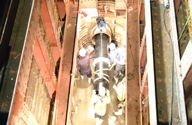 県町地区(夏目往生地1号)送水管布設替工事