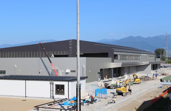 長野市第四給食センター建設工事