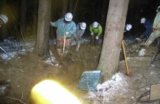漏水復旧工事