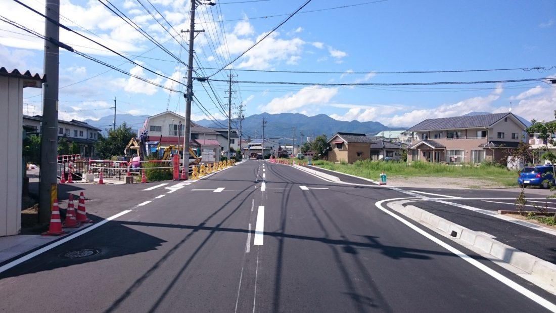 更北中央線道路改良