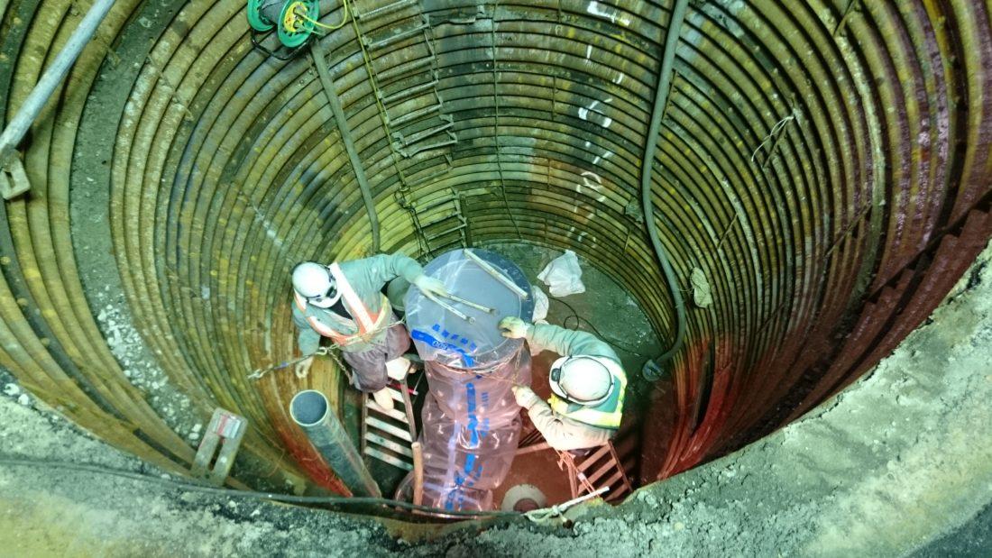 南県町地区(夏目往生地1号)送水管布設工事