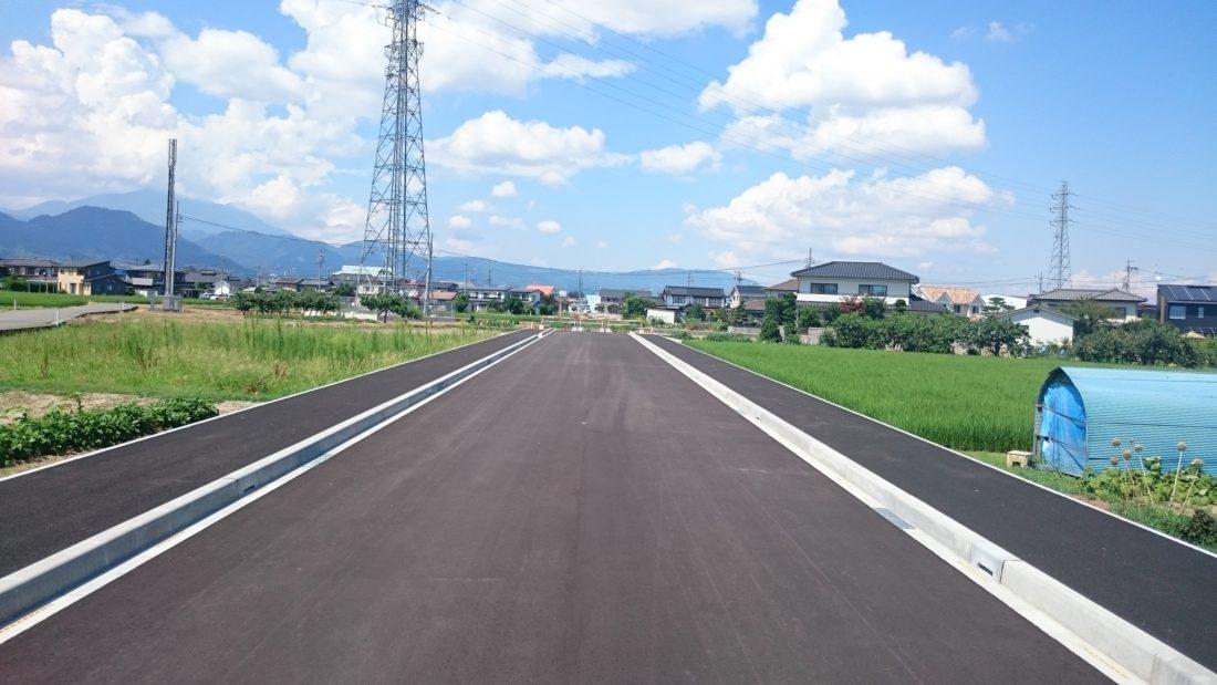 更北大塚線道路築造工事